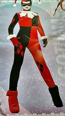 Rubie's Gotham girls Harley Quinn adult costume X-small new