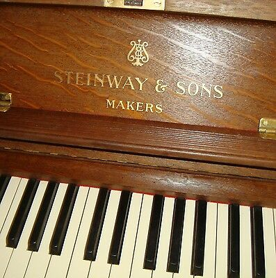 HIGH QUALITY STEINWAY & SONS Piano Concert Grand Upright VERTEGRAN