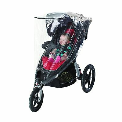 Nuby Jogging Stroller Weather Shield Clear New