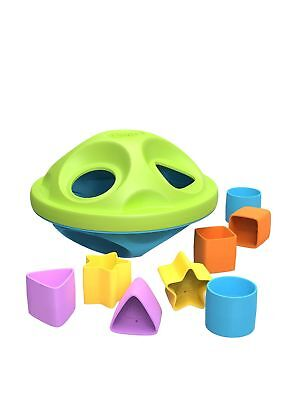 Green Toys My First Shape Sorter Green/Blue New