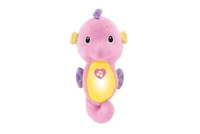 Fisher-Price Soothe and Glow Seahorse - Pink New