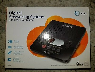 AT&T Digital Answering Machine (1740) - gently used