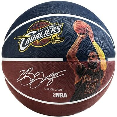 Lebron James Cleveland Cavaliers Spalding NBA Full Size 7 Basketball Ball