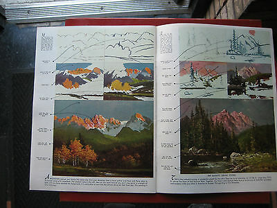 Vintage How Robert Wood Paints Landscapes and Seascapes Walter Foster #66