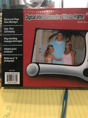 Digital Voice Recorder/Photo Frame