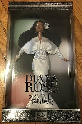 DIANA ROSS Bob Mackie Limited Edition Barbie Doll 2003 Mattel NIB