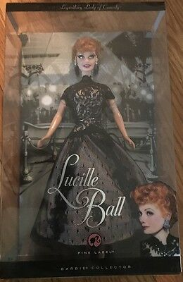 2008 Barbie Pink Label Lucille Ball Legendary Lady Of Comedy Nib Mint