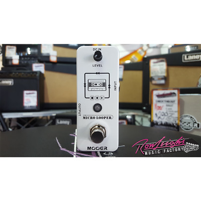 Mooer Micro Looper Electric Guitar Effects Loop Pedal w/ 30 Min. Recording Time