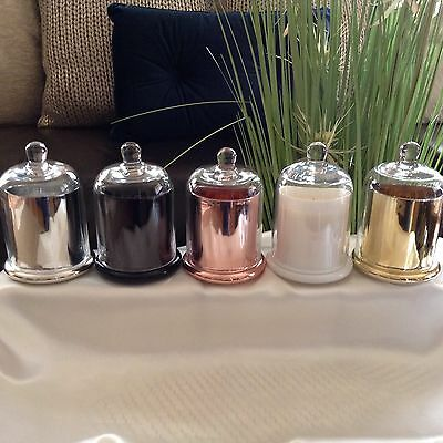 Soy Candle   Cloche Jar   Dome Lid   Home Decor   J Serenity   50/60Hrs Approx