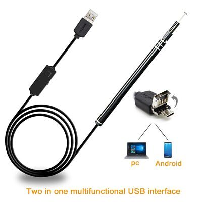 USB Ear Cleaning Endoscope Visual Earpick With Mini Camera Ear Cleaning Tool WS