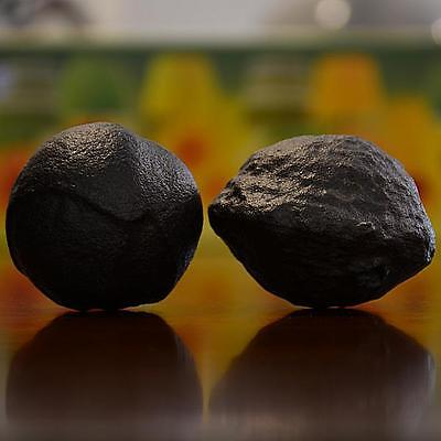 Beautiful Pair of Large Moqui Marbles (Shaman Stones) from Utah 237 grams