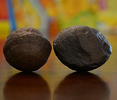 Beautiful Pair of Large Moqui Marbles (Shaman Stones) from Utah 186 grams