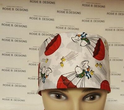 Snoopy   / Men's  Scrub Cap/surgical Hat