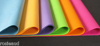 TISSUE PAPER 60 SHEETS RAINBOW COLOURS GIFT WRAP WEDDING PARTY 500 x 750 mm