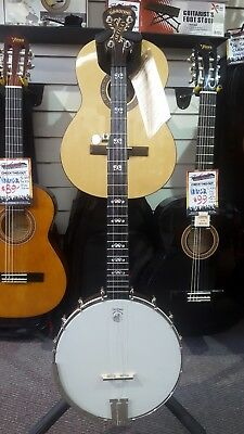 Deering Goodtime Artisan 5 String Open Back Banjo w/ String Spikes Made in U.S.A