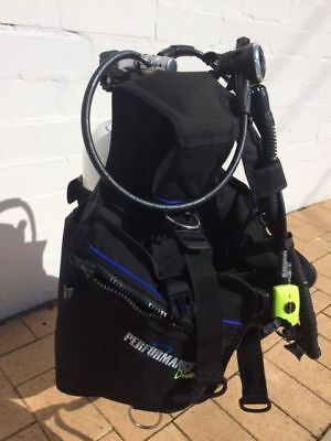 USED - EX DEMO SCUBA SET -Size LARGE  INCLUDING USED 12.2L FABER  STEEL CYLINDER