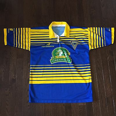 Warrington Wolves New Balance Rugby Jersey Mens Size M