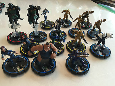 HeroClix Marvel 2002 Clobberin' Time Lot