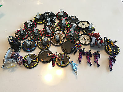 HeroClix Mixed Lot of Incomplete/damaged Figures WizKids