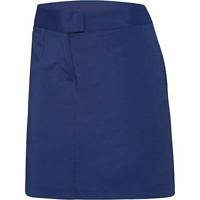 New Puma Solid Tech Skirt - Medieval Blue - size 16 only