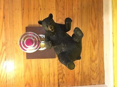 Black Bear Animal BEER TAP HANDLE NEW COLLECTIBLE USA ANTIQUE Vintage Cute