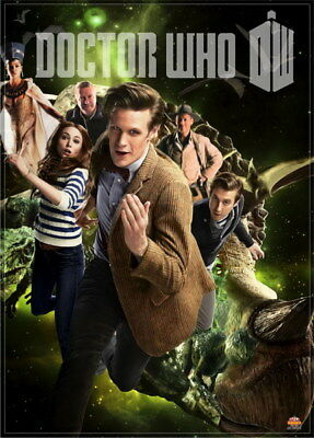 """024 Doctor Who - BBC Space Travel 50th_anniversary Hot TV Show 24""""x33"""" Poster"""