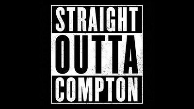 "009 Straight Outta Compton - Ice Cube MC Ren HIPHOP Moive42""x24"" Poster"
