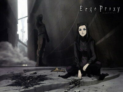 """007 Ergo Proxy - Science Fiction Fight Action Japan Anime 32""""x24"""" Poster"""