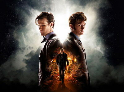 """037 Doctor Who - BBC Space Travel 50th_anniversary Hot TV Show 32""""x24"""" Poster"""