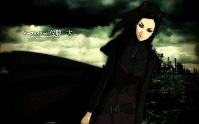"""015 Ergo Proxy - Science Fiction Fight Action Japan Anime 38""""x24"""" Poster"""