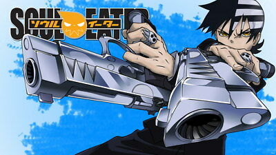 """003 Soul Eater - Shinigami Death the kid Anime 42""""x24"""" Poster"""