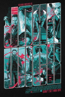 "006 John Wick Chapter 2 - Keanu Reeves 2017 Movie 24""x36"" Poster"
