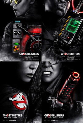 "033 Ghostbusters - Ghost Hunter Adventure Suspense Movie 24""x35"" Poster"