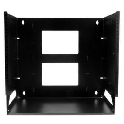 NEW STARTECH WALLSHELF8U 8U WALL-MOUNT SERVER RACK WITH SHELF....b.