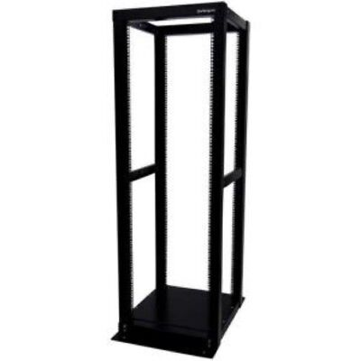 NEW STARTECH 4POSTRACK36 36U 4 POST OPEN FRAME RACK CABINET....b.