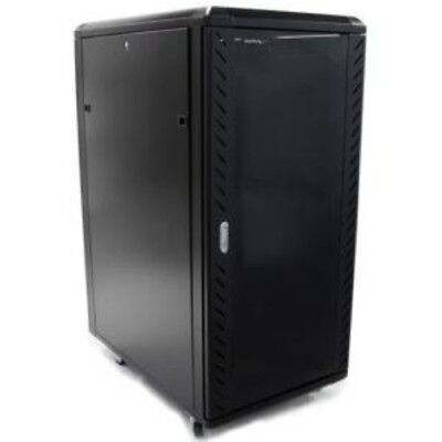 NEW STARTECH RK2536BKF 25U 36IN KNOCK-DOWN SERVER RACK CABINET....b.