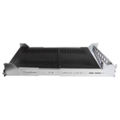 NEW STARTECH UNISLDSHF19H 2U ADJUSTABLE VENTED SLIDING RACK 90.7KG....b.