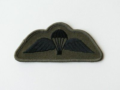 British Airborne Forces/Parachute Regiment Subdued Para Wings Black/Olive Drab