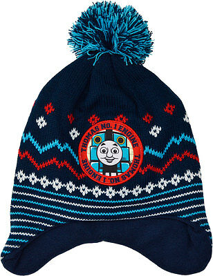 Boys - Thomas The Tank Engine Warm Winter Knitted Hat