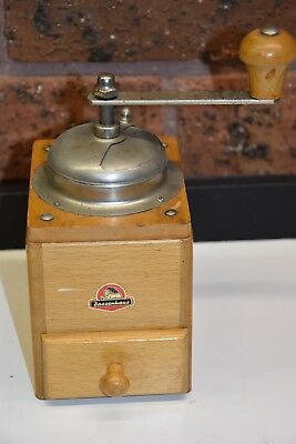 ZASSENHAUS Vintage Coffee Grinder - 1940s Germany - Excellent Vintage Condition