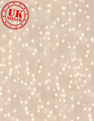 CHRISTMAS SPARKLE DUSTY PINK BABY LIGHTS BOKEH BACKDROP PHOTO 5X7FT 150CMx220CM
