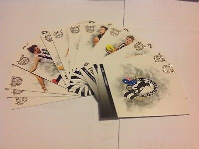 2017 AFL Select Series 2 'Certified' - COLLINGWOOD MAGPIES- Team Set - 12 Cards