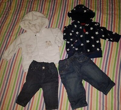 boys 3-6 months bundle - jeans , jackets