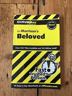 Toni Morrison Beloved Cliffnotes Study Guide