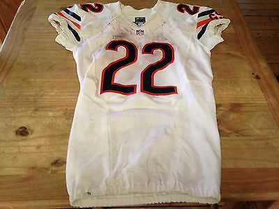 Chicago Bears Matt Forte On Field Game Used Jersey NFL AUTHENTICATED