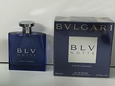 Bvlgari BLV Notte Pour Homme EDT 100ml Spray New & Rare