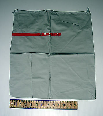 PRADA original genuine dustcover Vynil shopping bag pouch