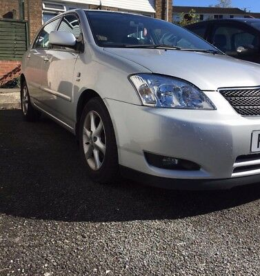 Toyota Corolla T-Spirit 1.6 Silver 95000 Miles(Years MOT Excellent Condition)