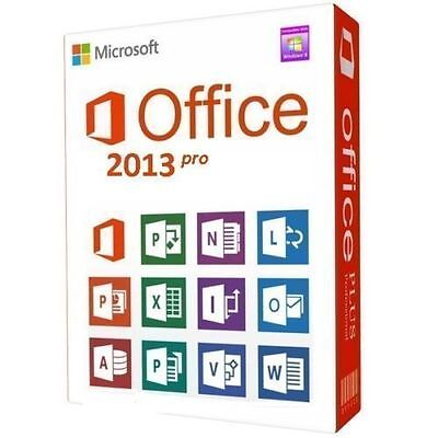 Office Professional Plus 2013 - 32/64 - originale per 3 PC FATTURABILE
