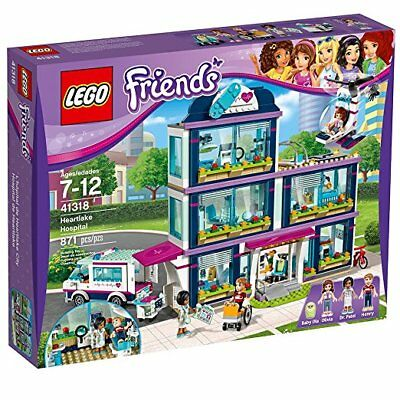 LEGO Friends Heartlake Hospital 41318 Building Kit (871 Piece) Free Shipping